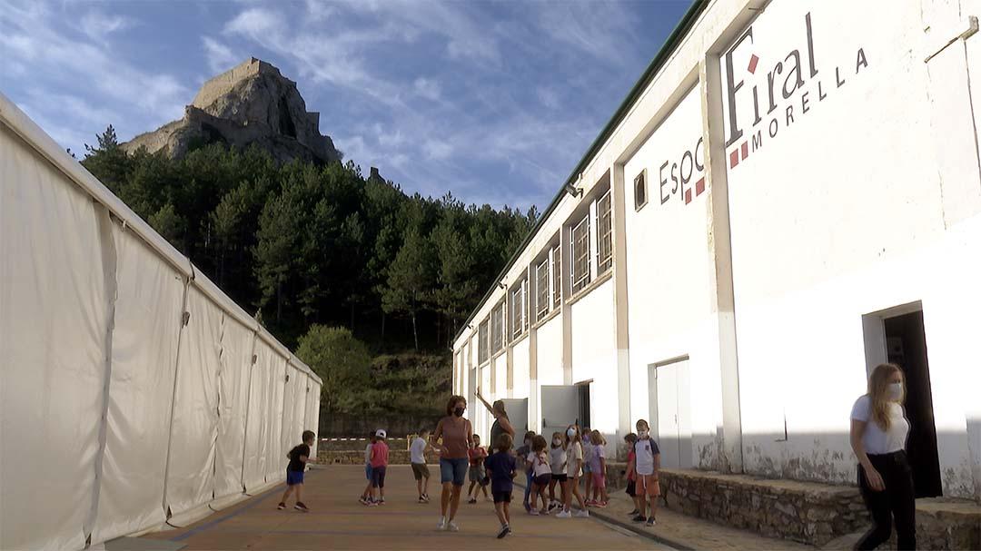Morella inicia el curs de primària amb 182 alumnes