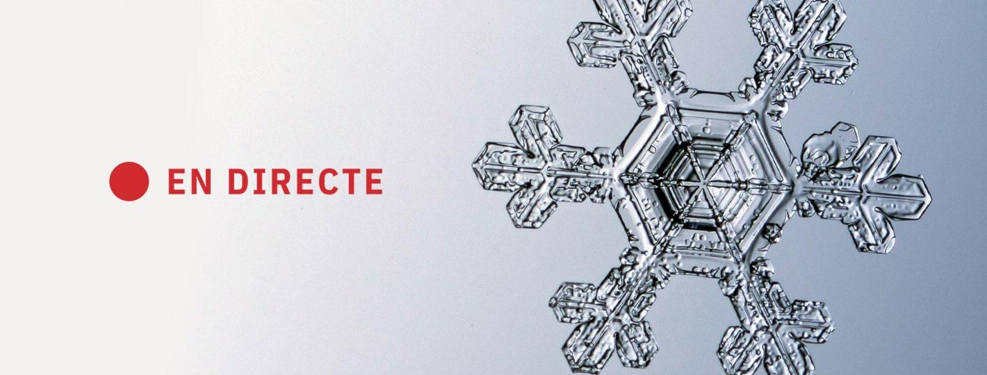 """La nova """"nevada del segle"""" als Ports en directe"""