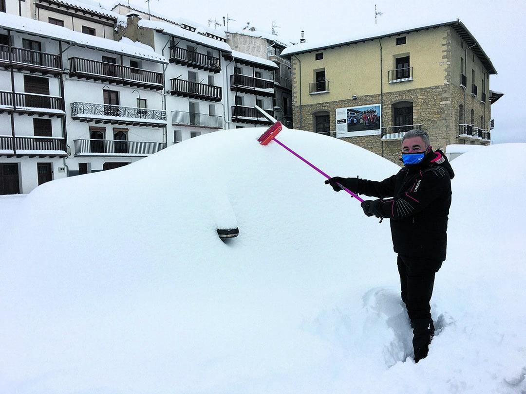 Crònica d'una setmana amb la neu de la borrasca Filomena