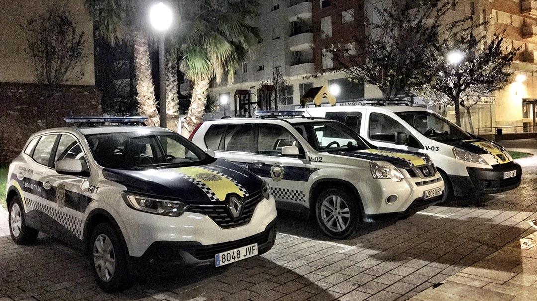 """El covid-19 """"duplica"""" la feina de la Policia Local de Vinaròs"""
