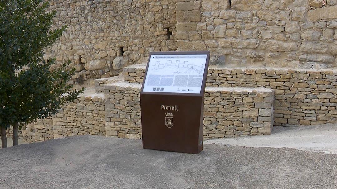 Portell promociona les muralles amb audioguies turístiques
