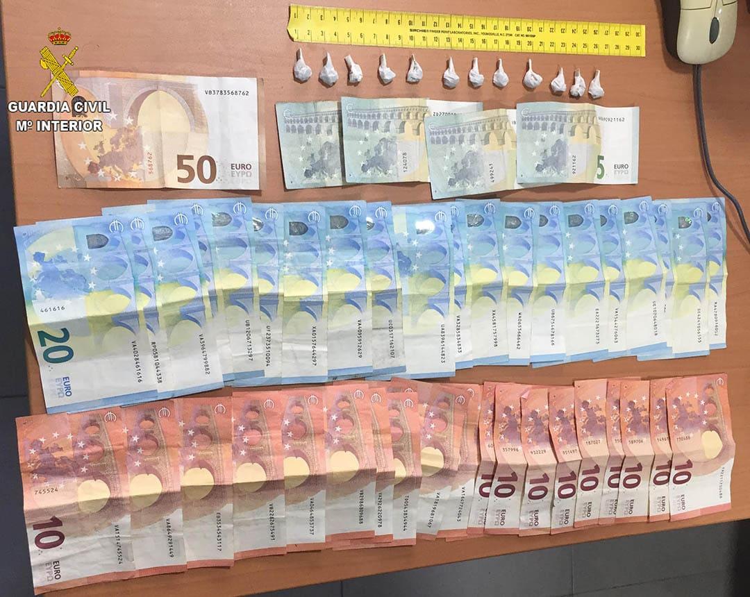 Detingut un home de 55 anys per tràfic de drogues a Vinaròs