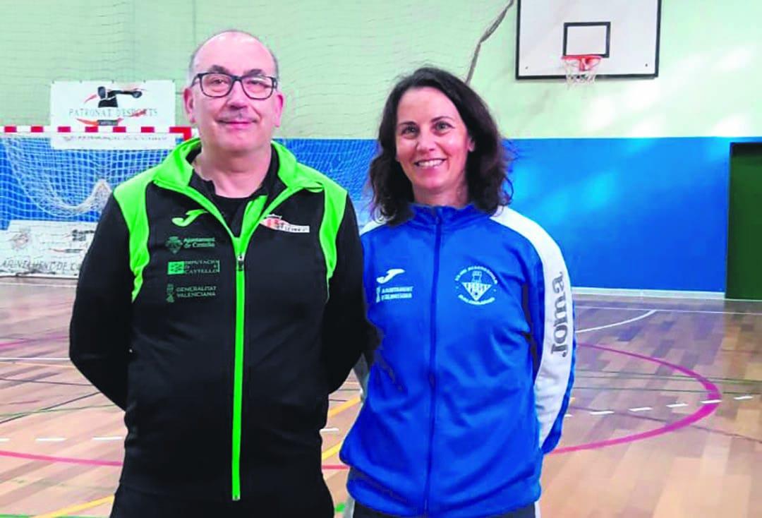 Toni Tena i Gemma Miralles coincideixen amb equips diferents a la Divisió d'Honor Plata