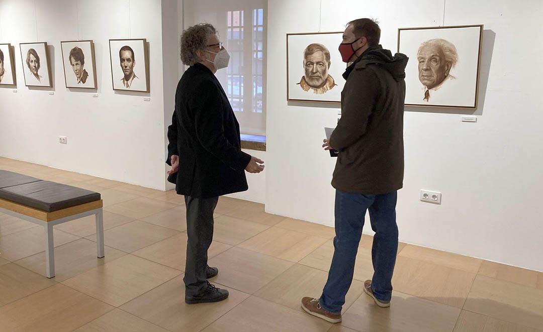 Les 'Icones del segle XX' de Lluís Ribas arriben al Mucbe