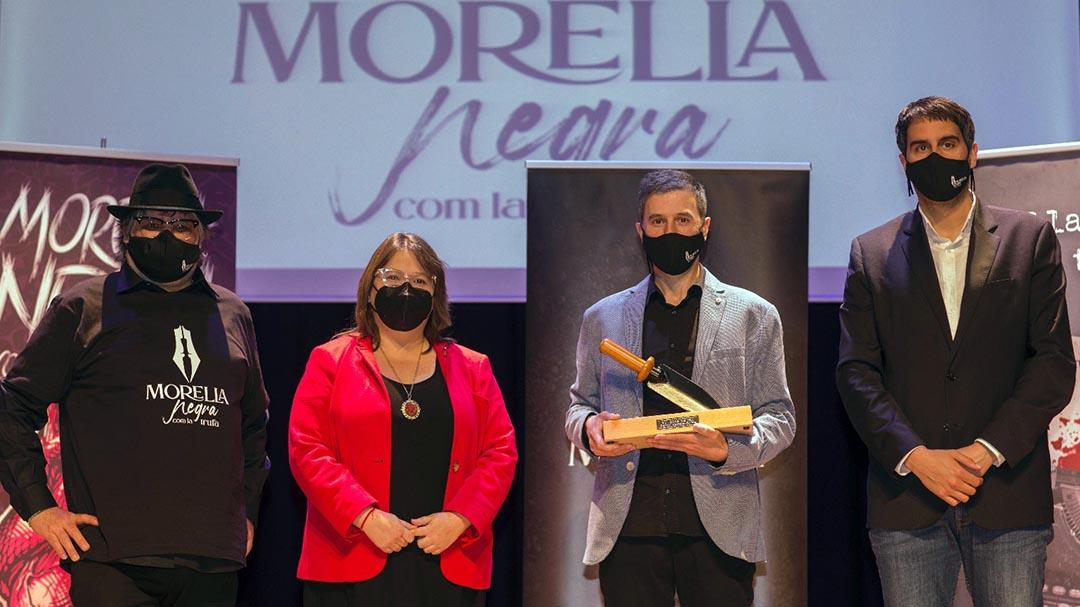 """David Casals-Roma, premi Tuber Melanosporum per """"21 días de ira"""""""