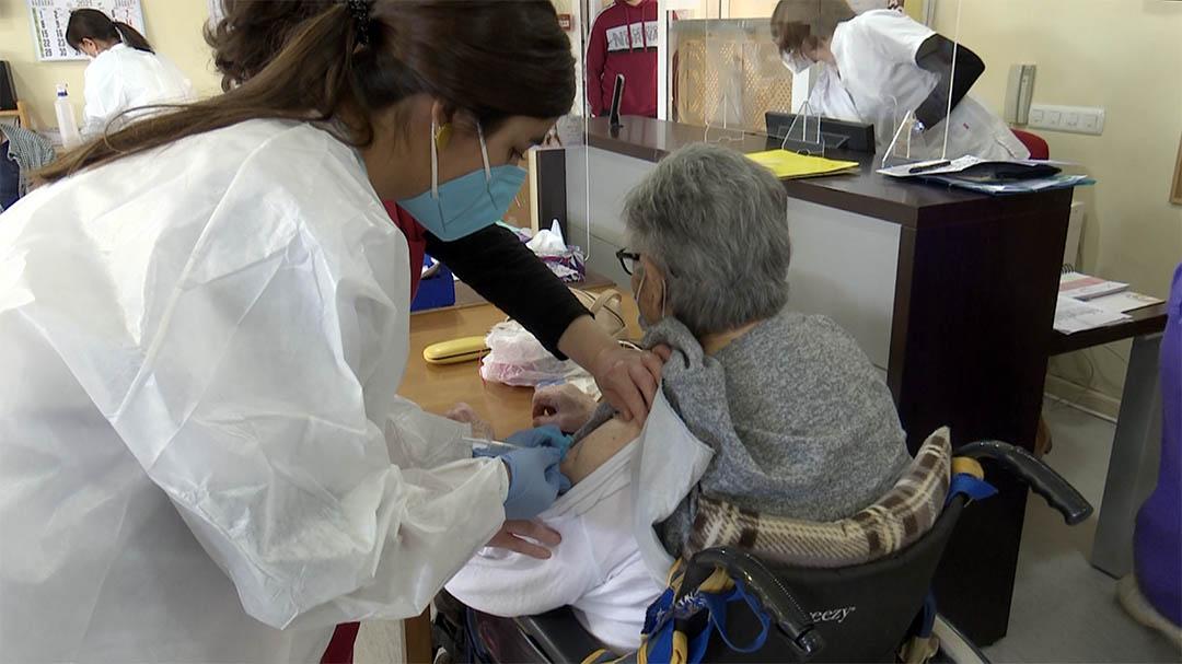El Centre de Dia de Morella, immunitzat contra el coronavirus amb la segona dosi
