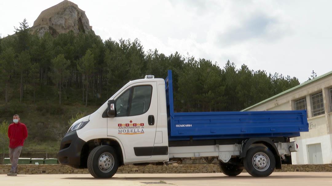 Morella estrena un nou camió per a la brigada