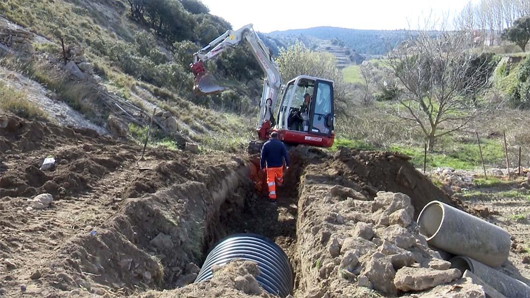 Un nou col·lector al carrer la Bassa servirà acabar amb les inundacions a aquesta zona