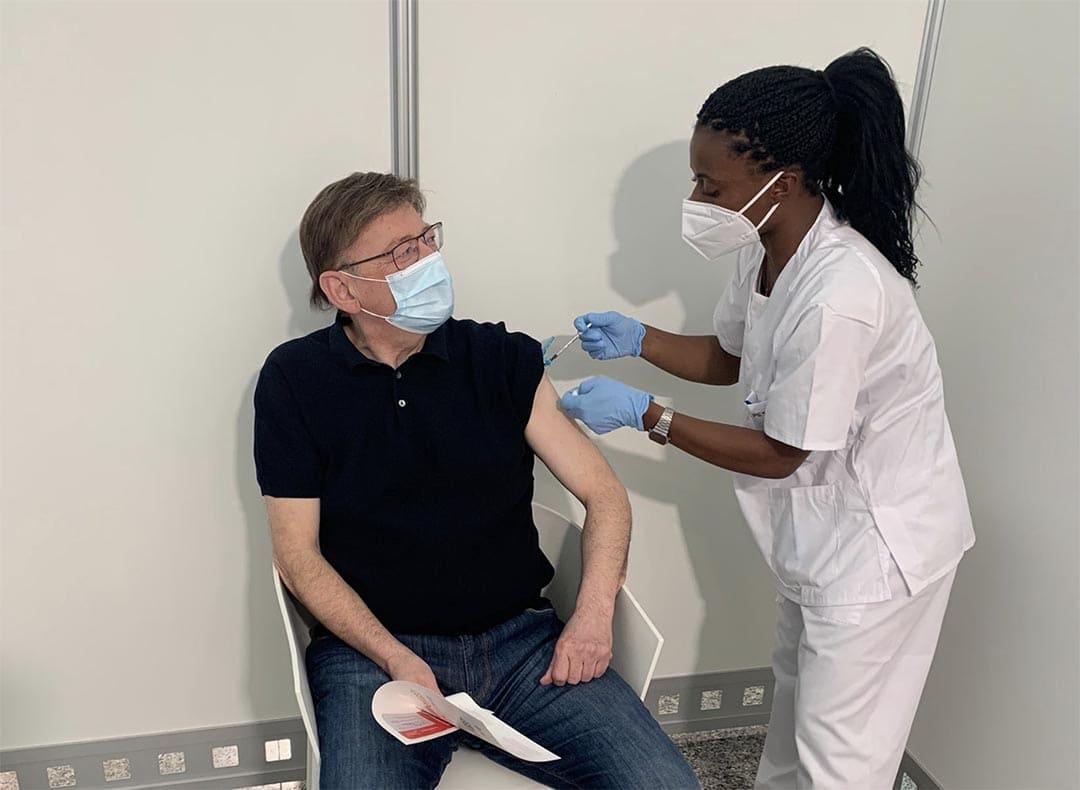 Ximo Puig es vacuna contra el coronavirus