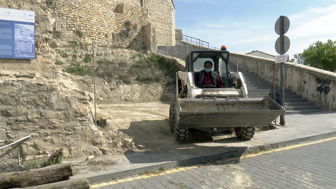 Es traslladarà la zona de reciclatge de Porta de Sant Mateu a la Plaça de la Font