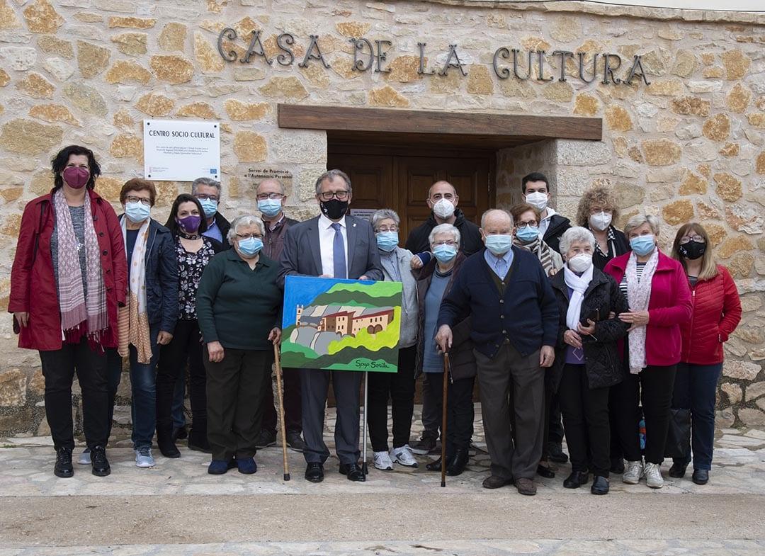 """Martí vol """"superar amb serveis la desigualtat per la despoblació"""" de Palanques o Sorita"""