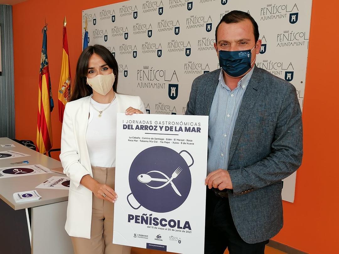 Peníscola presenta les seues primeres Jornades Gastronòmiques de l'Arròs i de la Mar