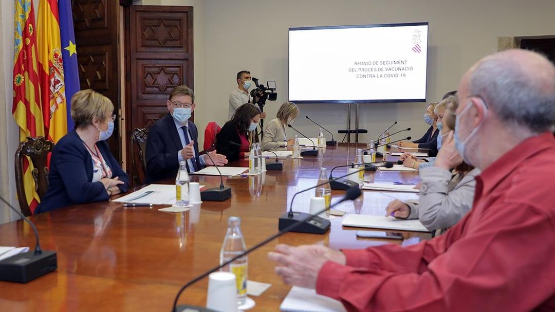 Ximo Puig ha avançat que el 17 de juny comença la vacunació entre 40 i 50 anys