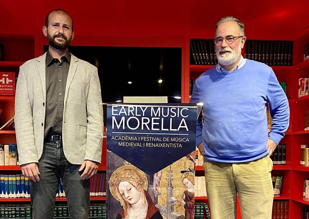 Early Music Morella es presenta a Bèlgica i Països Baixos