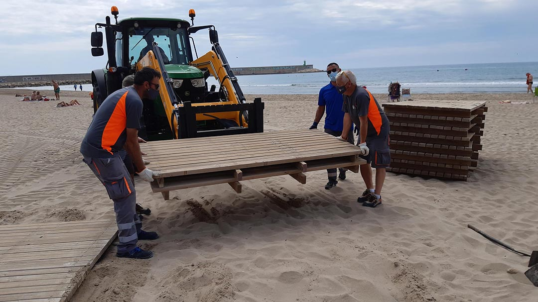Arranca la temporada de platges amb l'inici del servei de socorrisme i salvament