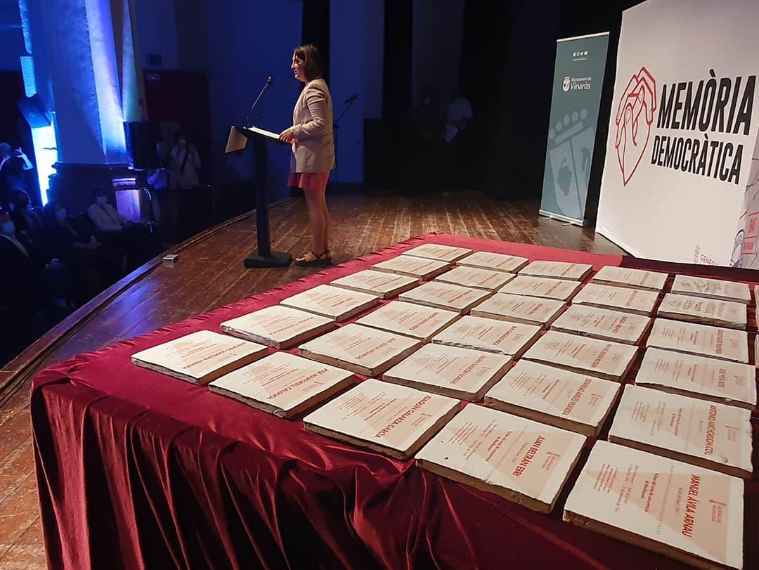 Es ret homenatge a 36 víctimes de l'Holocaust del Baix Maestrat