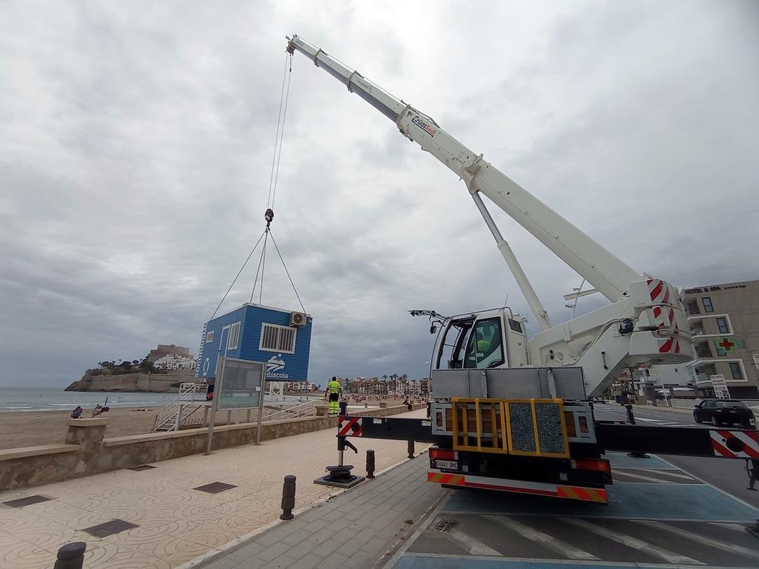 Peníscola inverteix enguany quasi un milió d'euros en les seues platges