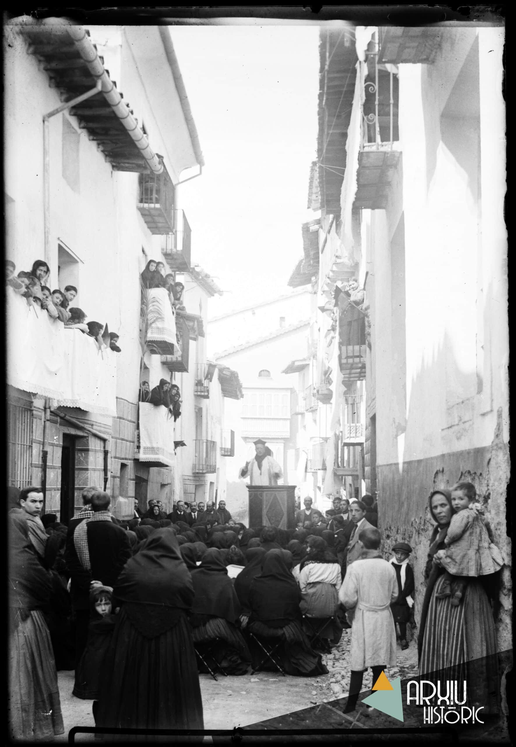 Recordes com se celebrava el dia de Sant Vicent a Morella?